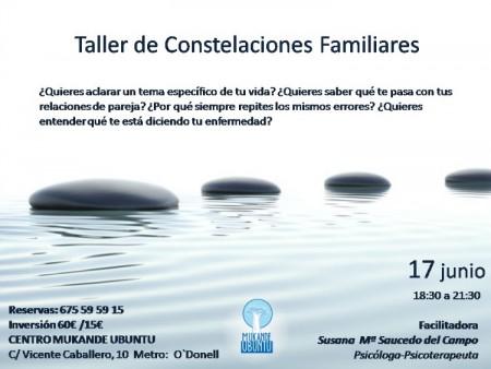 Taller de Constelaciones Familiares MUKANDE 17 junio Madrid