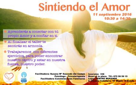 taller de Sintiendo el Amor en Madrid constelaciones familiares